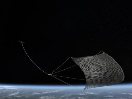 Solution to orbital debris